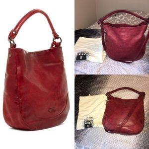 FRYE Melissa Hobo Bag with Dust Bag